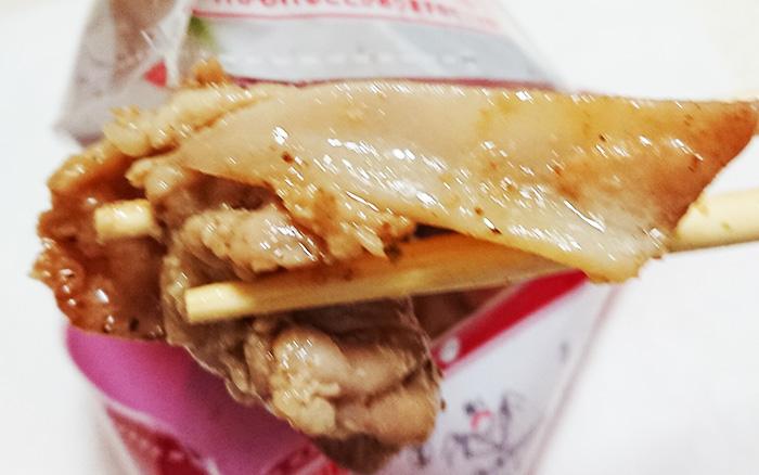 「やげん軟骨にんにく醤油焼き」のアップ写真