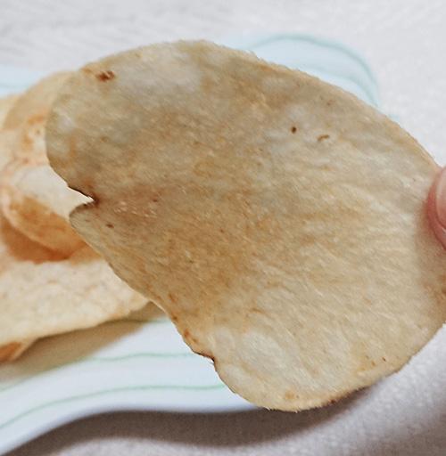 ポテトチップスのアップ写真