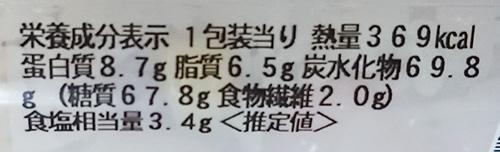 『バター香る!海老ピラフ』の栄養成分表示