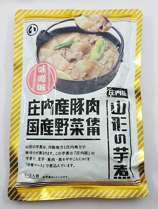 【まるい食品】山形の芋煮庄内版味噌味