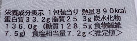 「にんにく好きの為の!ニンニク炒飯&ガリチキ」の栄養成分表示